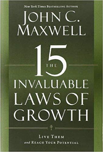 Image of the book, The 15 Invaluable Laws of Growth